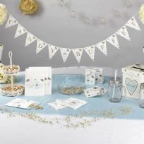 To Have And To Hold Candy Buffet Bunting